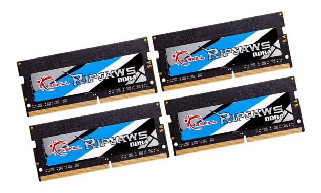 G.SKILL Announces The Ripjaws DDR4 SO-DIMM at 4000MHz