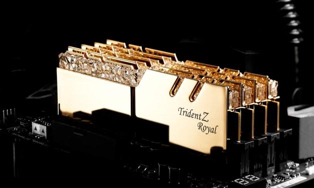 G.SKILL Launches Trident Z Royal Series DDR4 RGB Memory Kits