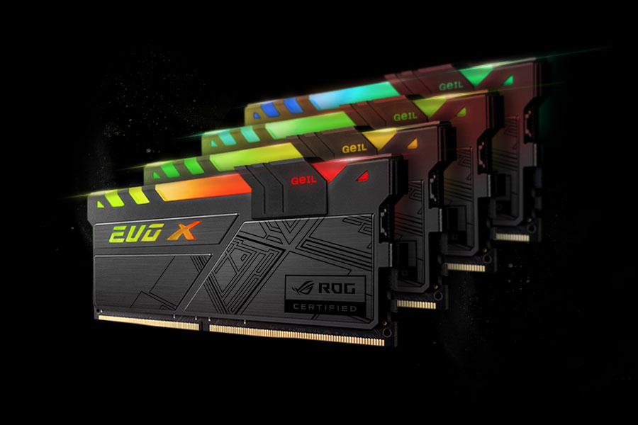GeIL Announces The EVO X RGB DDR4 Memory Kit