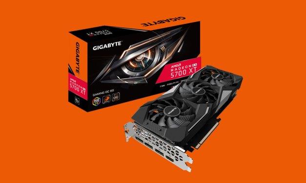 GIGABYTE Unveils RadeonRX 5700 Series Graphics Card