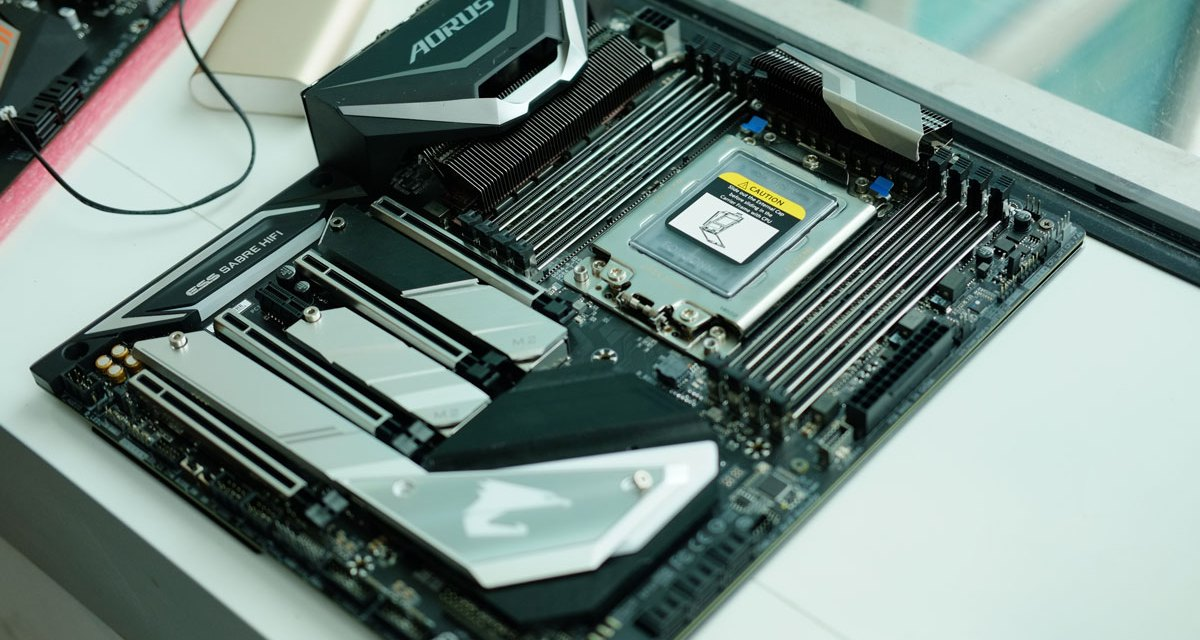 GIGABYTE Previews X399 AORUS Xtreme at COMPUTEX