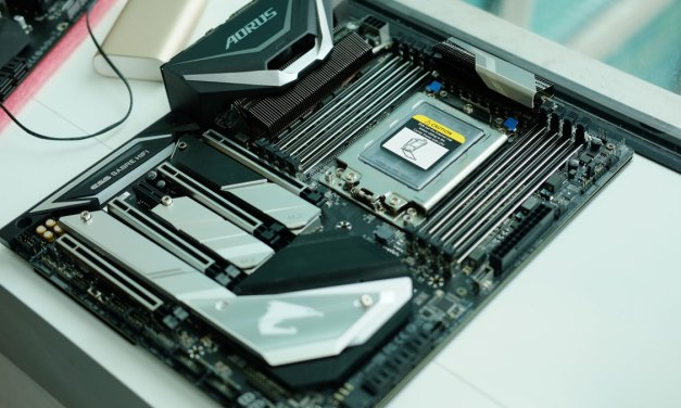 GIGABYTE Previews X399 AORUS Xtreme at COMPUTEX