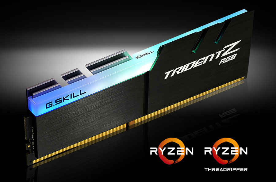"G.SKILL Announces ""TRZX"" Trident Z DDR4 For AMD"