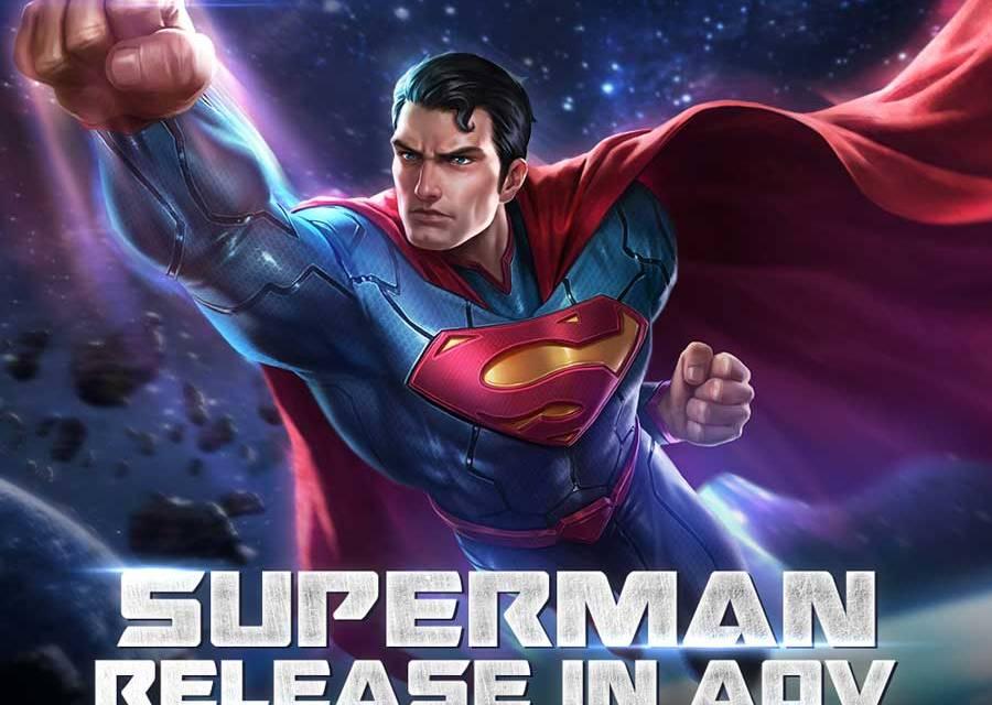 Garena Aov Superman Lands On The Valiant Server