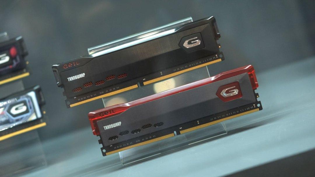GeIL Gravity Transwarp DDR4 Computex (6)