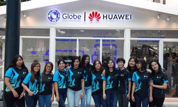 Globe x Mineski Introduces Liyab Hilaya All-female Team