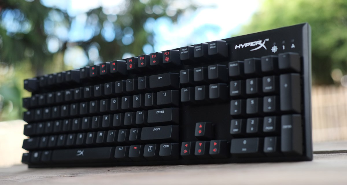 The Kingston HyperX Alloy FPS Review