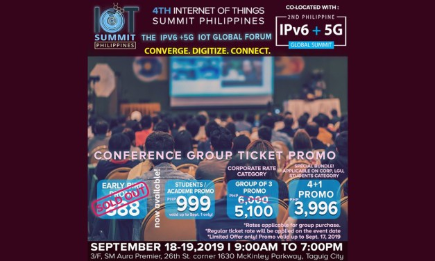IoT Summit PH 2019 To Feature IPv6 and 5G