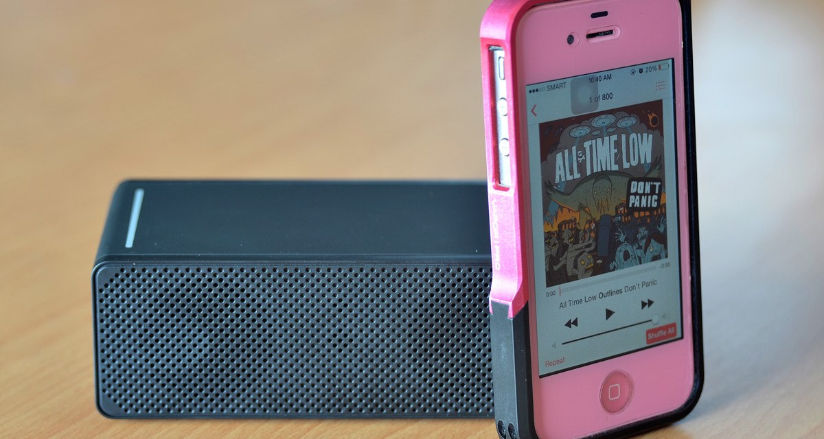 Luxa2 GroovyT Magic Boom Box Speaker Review