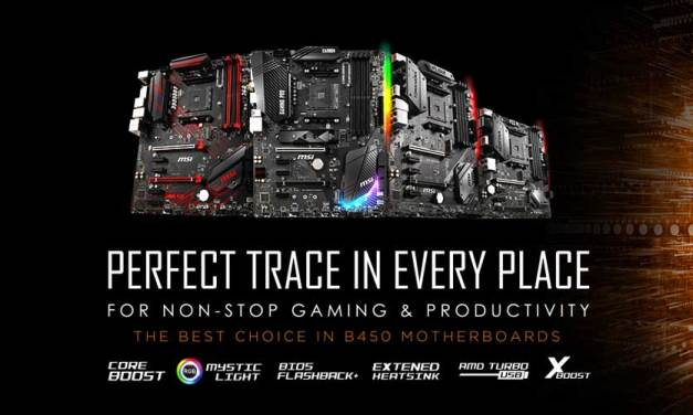 MSI Reveals Full B450 Motherboard Lineup