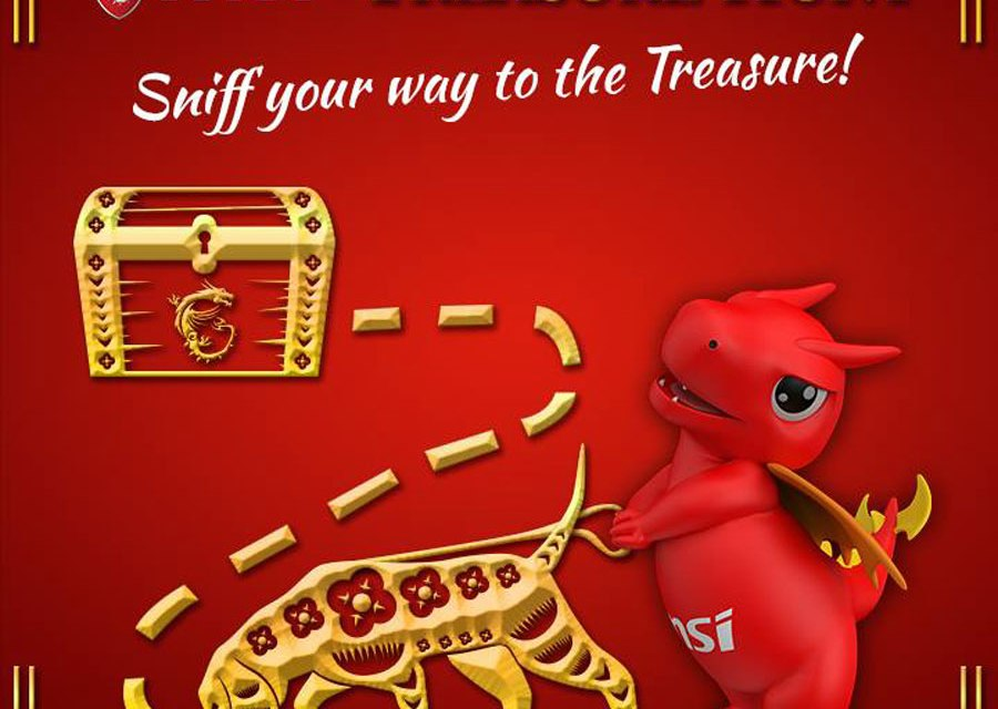 MSI Gaming PH Treasure Hunt Promo Is On