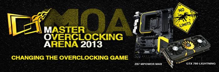 MSI 2013 Master Overclocking Arena Worldwide Grand Finals