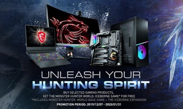 MSI Presents Monster Hunter World: Iceborne Bundle