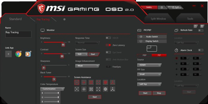 MSI Optix MAG321CQR Benchmark (11)