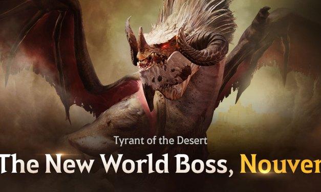 Menacing World Boss Nouver Unleashed inBlack Desert Mobile