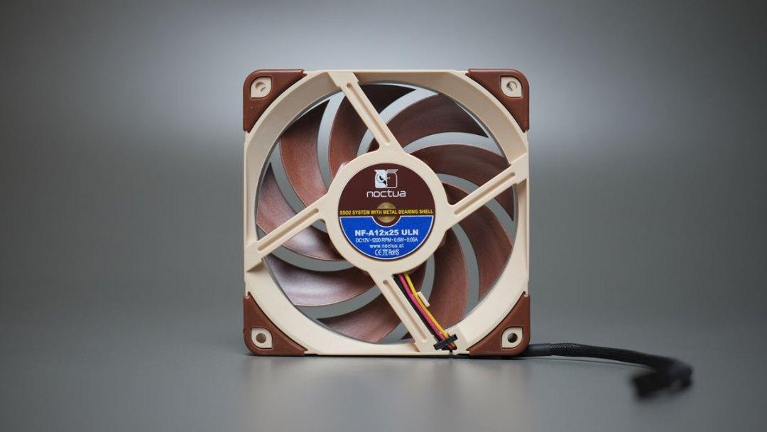 Noctua NF-A12x25 ULN Fan (4)