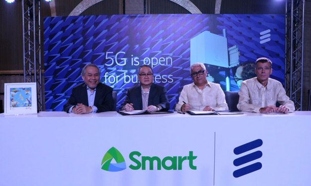 PLDT-Smart and Ericsson to deploy 5G in PH
