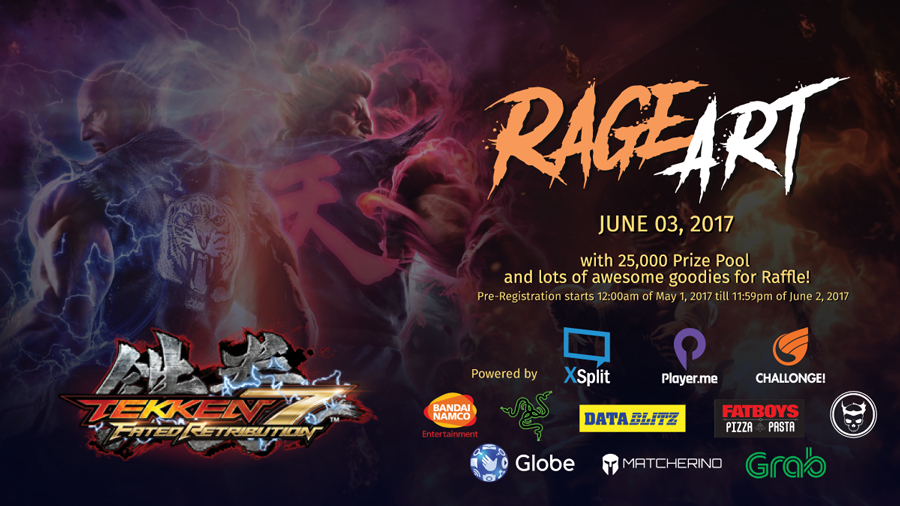 RAGE ART: A Tekken 7 Local Launch Event