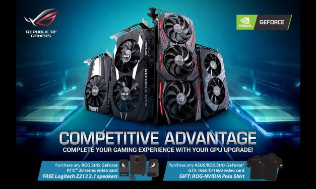 ASUS ROG and NVIDIA Launches Competitive Advantage Promotion