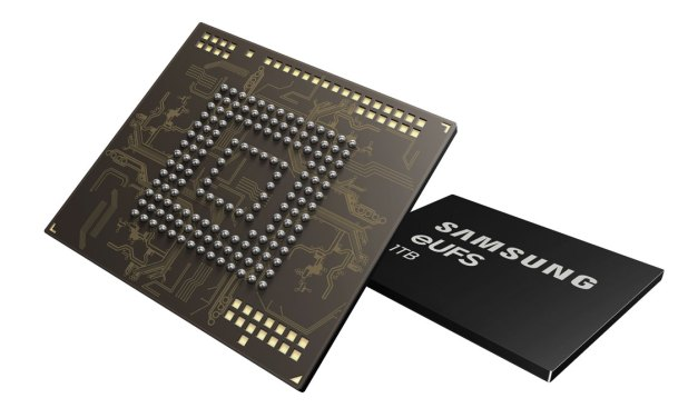 Samsung Breaks Terabyte Threshold for Smartphone Storage