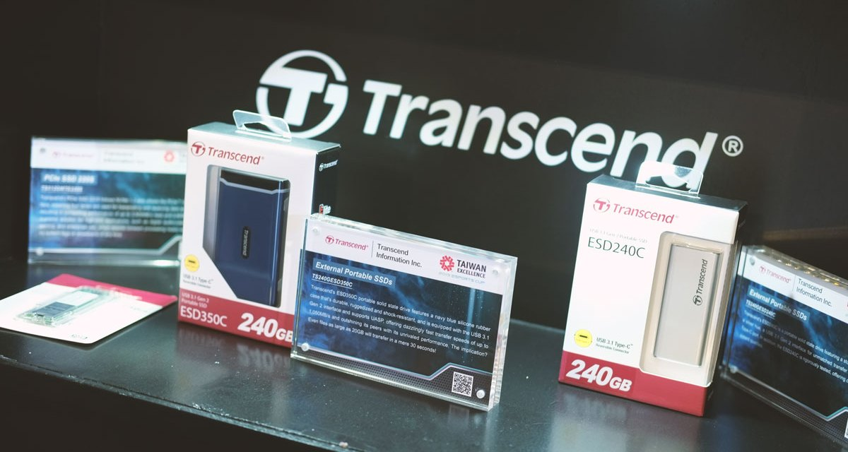 Transcend Showcases Products at Taiwan Excellence Esports Cup 2019