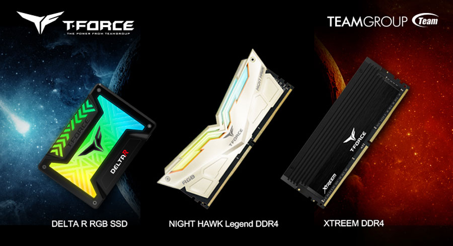TEAMGROUP Updates 2018 T-Force Gaming Lineup