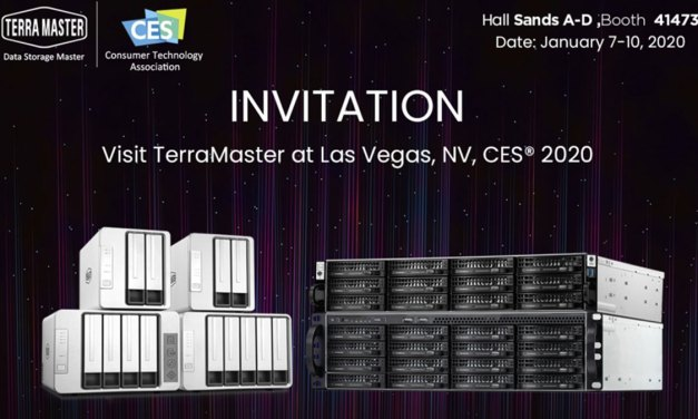TerraMaster Readies Exciting Product Showcase for CES 2020