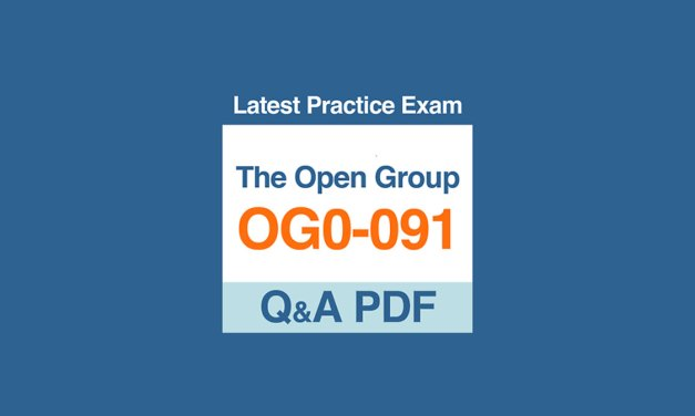 Excel in The Open Group TOGAF 9 OG0-091 and OG0-092 Exams through Training Courses
