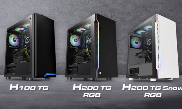 Thermaltake RevealsH-Series Tempered Glass Mid-Tower Series
