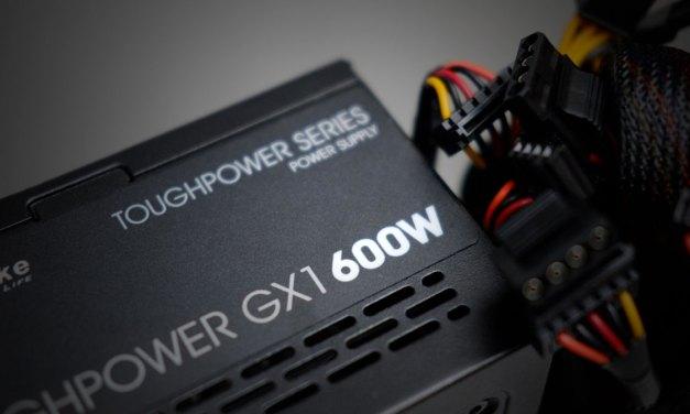 Preview | Thermaltake ToughPower GX1 600W 80+ Gold PSU