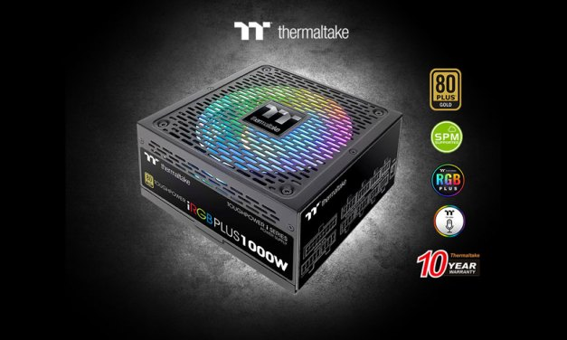 Thermaltake Releases Toughpower iRGB PLUS Gold PSU Series