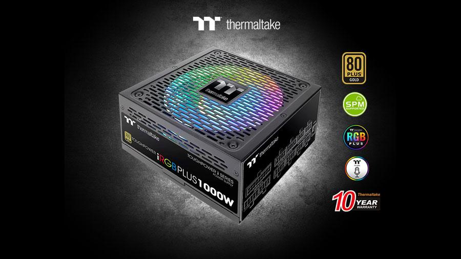 Thermaltake Releases Toughpower iRGB PLUS Gold PSU Series