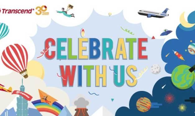 Transcend Celebrates 30th Anniversary