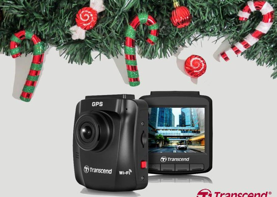 Win a Transcend DrivePro 230 Dashcam this Christmas