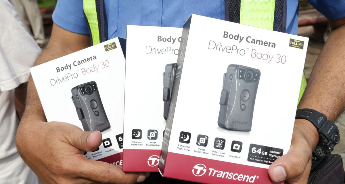 Transcend DrivePro Ushers New Era of Public Safety at Naga City