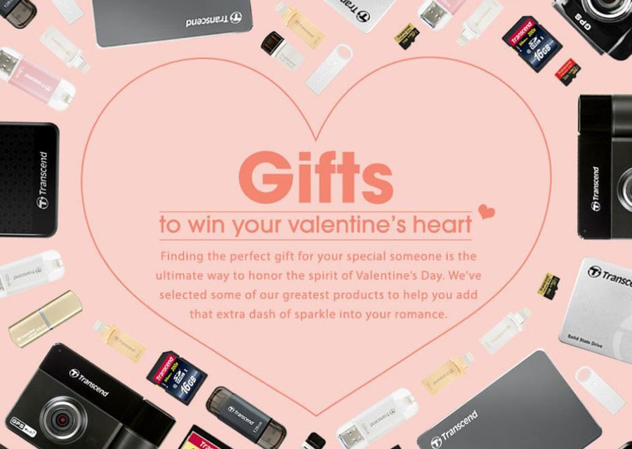 Transcend Offers the Gifts to Win Your Valentine's Heart
