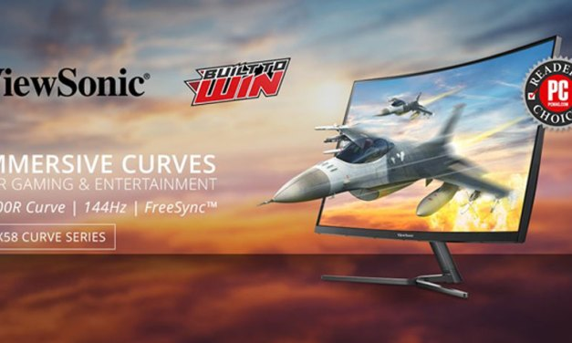 ViewSonic Launches VX58 Curve Series Monitors