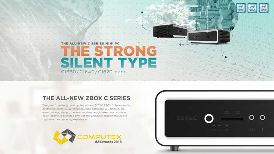 ZOTAC Reveals ZBOX CI660 Nano Passively Cooled Mini PC