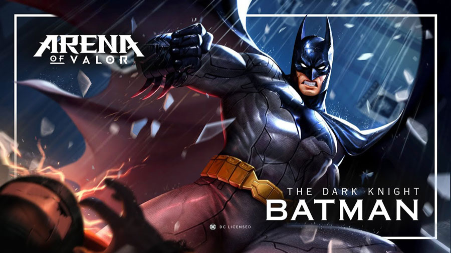Batman​ ​Revealed​ ​As​ ​Free​ ​Hero​ ​in​ ​Arena​ ​of​ ​Valor