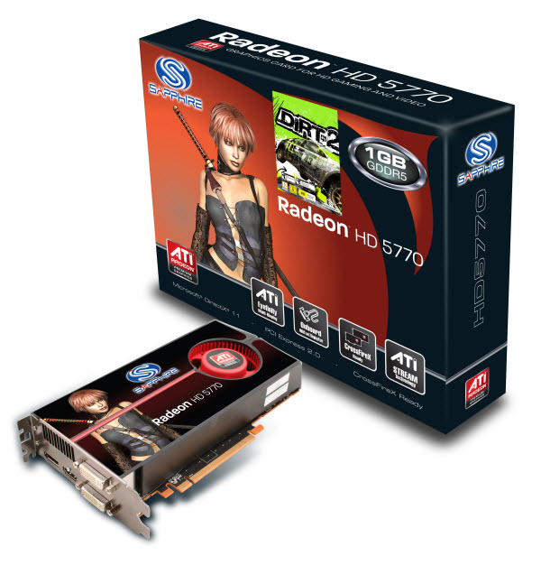 Sapphire Announces its Radeon HD 5700 Series Graphics ...