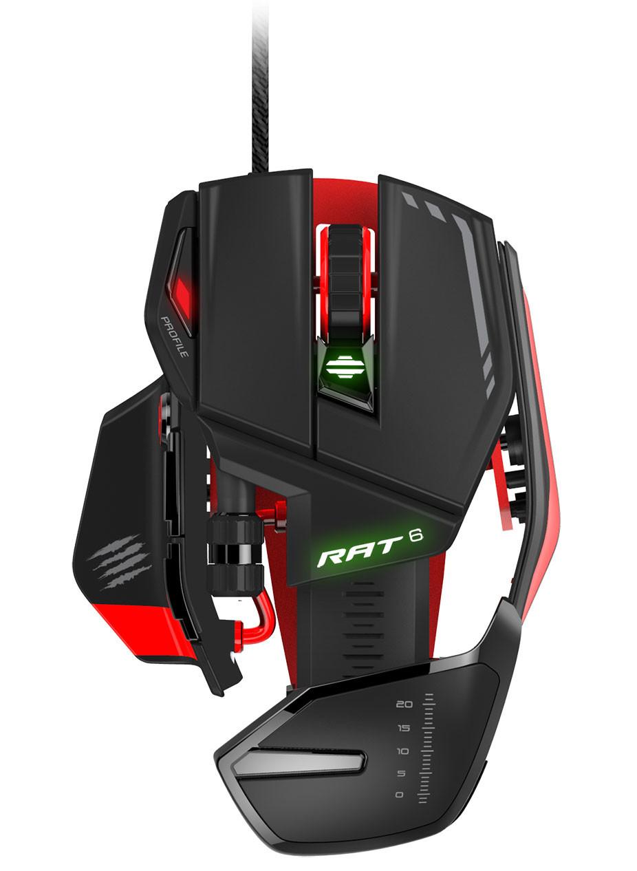 Mad Catz Announces New Range Of Rat Gaming Mice