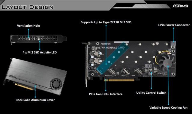 ltnNRJ6UdTxgnVSb ASRocks Ultra Quad M.2 Card beats the ASUS Hyper M.2 x16 Riser card from every aspect