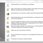 Easily Repair & Fix Windows 7 & Vista problems with FixWin Utility