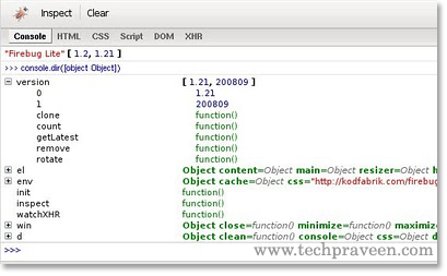Firebug Lite extension for Google Chrome