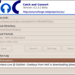 CaC(Catch And Convert) Download and Convert YouTube Videos