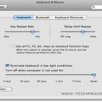 Turn ON the Mac Book Pro's Backlit keyboard Illumination