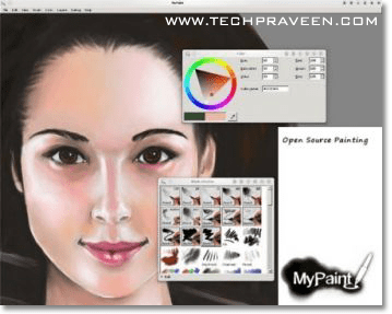 MyPaint - Nice Graphics Application for Linux