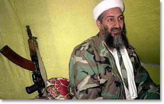 Osama Bin Laden With Gun
