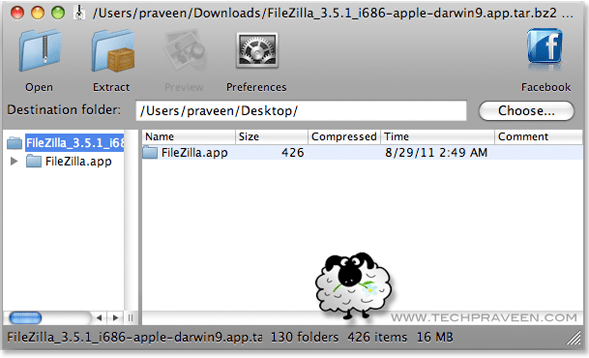 How To Extract .Zip and .RAR Files on Mac OS X