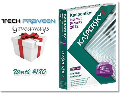 Kaspersky Internet Security 2012 License Key Worth $180